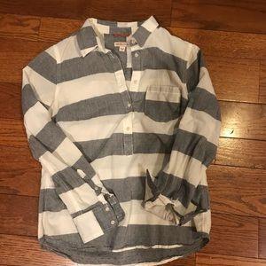 Merona Long Sleeve Collared Shirt